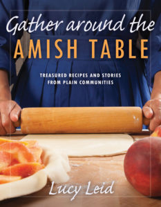 Cover of Gather around the Amish Table by Lucy Leid